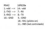 coneciones rn42 y pic16f628a.png