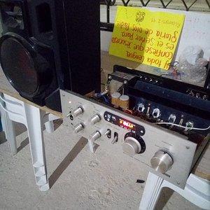 Agregando audio inhalambrico y digital a los amplificadores vintage.