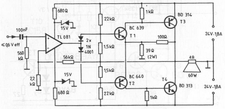 diagramas amplificadores p u00e1gina 74 foros de electr u00f3nica